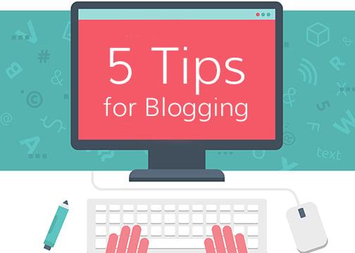 5-TipsBlogging